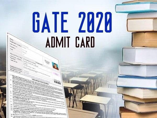 GATE 2020 Admit Card: गेट 2020 एडमिट कार्ड gate.iitd.ac.in पर जारी