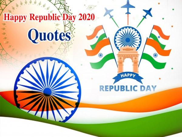 Happy Republic Day 2020 हैप्पी रिपब्लिक डे 2020: गणतंत्र दिवस की हार्दिक शुभकामनाएं संदेश कोट्स फोटो