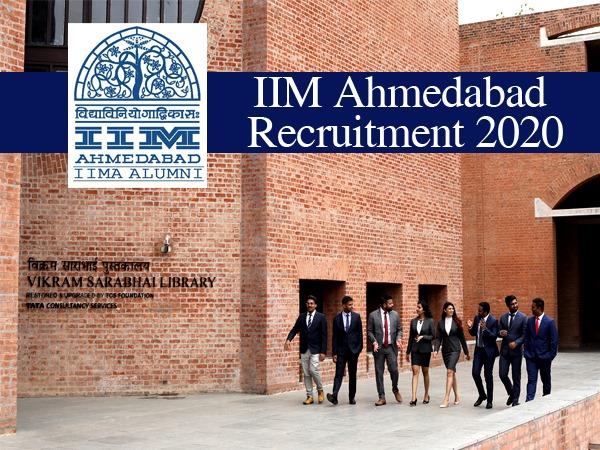IIM Ahmedabad Recruitment 2020: आईआईएम अहमदाबाद भर्ती 2020 के लिए 17 फरवरी तक ऐसे करें आवेदन