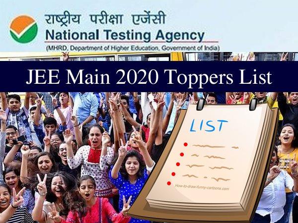 JEE Main 2020 Toppers List: जेईई मेन 2020 जितेन्द्र ने किया टॉप, दिल्ली के निशांत अग्रवाल नंबर 3 पर