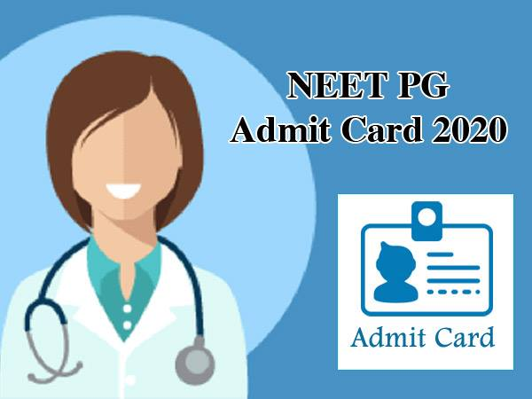 NEET PG Admit Card 2020: नीट पीजी एडमिट कार्ड 2020 nbe.edu.in पर जारी, 5 जनवरी को होगी परीक्षा
