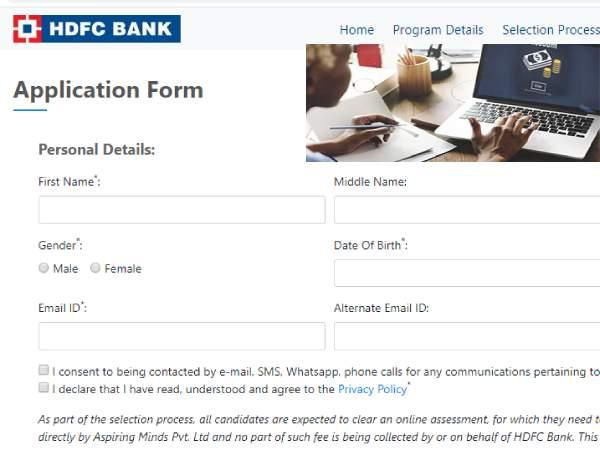 HDFC Bank Recruitment 2020: एचडीएफसी बैंक भर्ती 2020 के लिए आवेदन की अंतिम तिथि 30 अप्रैल