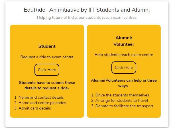 NEET JEE 2020: छात्रों को परीक्षा केंद्र के लिए ट्रांसपोर्ट की जानकारी देगा IIT Bombay का यह पोर्टल