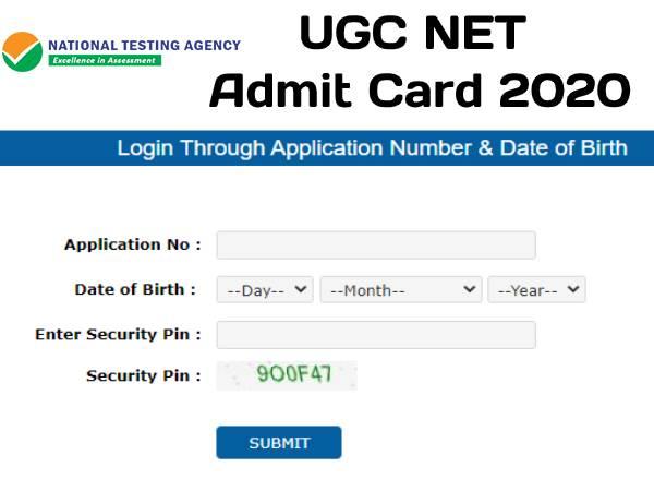 UGC NET Admit Card 2020: यूजीसी नेट एडमिट कार्ड जारी, UGC NET परीक्षा 29, 30 सितंबर और 1 अक्टूबर को