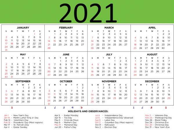 Happy New Year 2021 Calendar In Hindi: साल 2021 में आने वाले महत्वपूर्ण दिन व्रत त्योहार की लिस्ट