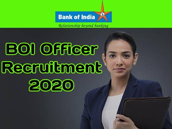 BOI Officer Recruitment 2020: बीओआई भर्ती 2020 आवेदन प्रक्रिया शुरू, 21 दिसंबर तक ऐसे करें आवेदन