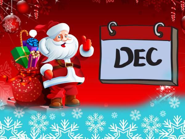 December 2020 Calendar: दिसंबर महीने में आने वाले महत्वपूर्ण दिनों की लिस्ट