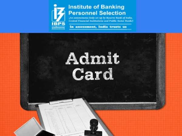 IBPS SO Admit Card 2020 Download: आईबीपीएस एसओ एडमिट कार्ड 2020 ibps.in पर जारी, 26-27 दिसंबर को IBP