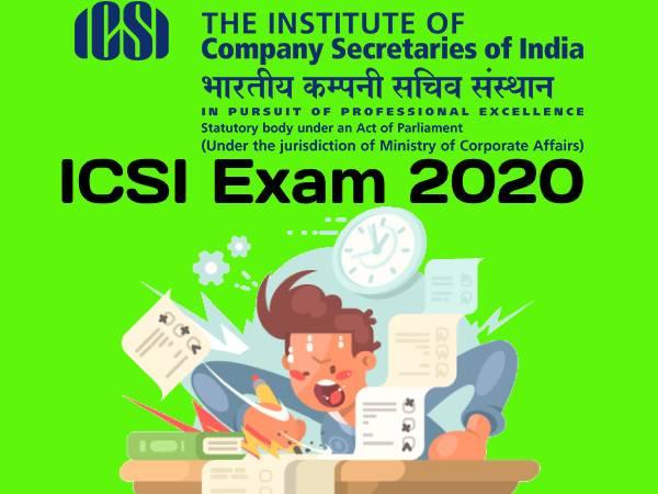 ICSI Exam 2020: आईसीएसआई दिसंबर 2020 परीक्षा आवेदन प्रक्रिया शुरू, चेक फुल डिटेल