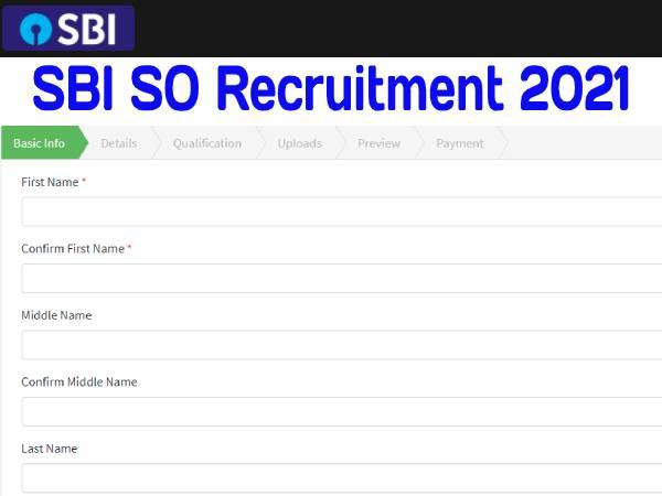 SBI SO Recruitment 2021 News: एसबीआई एसओ भर्ती प्रक्रिया, सिलेबस, परीक्षा तिथि, रिजल्ट और सैलरी