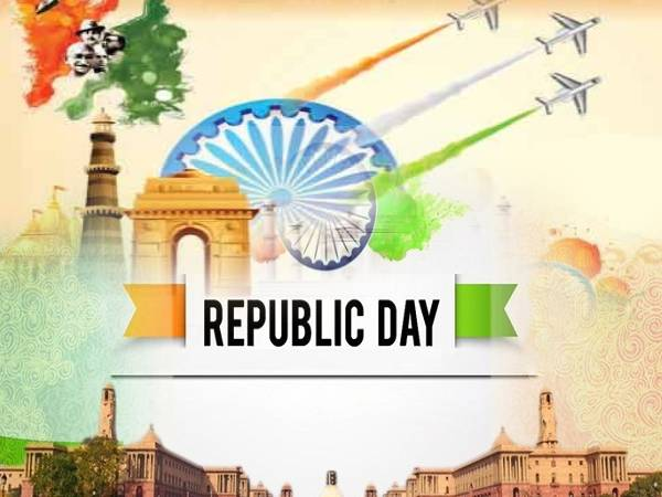 Happy Republic Day Greetings Card / Happy Republic Day PGN / Happy Republic Day GIF