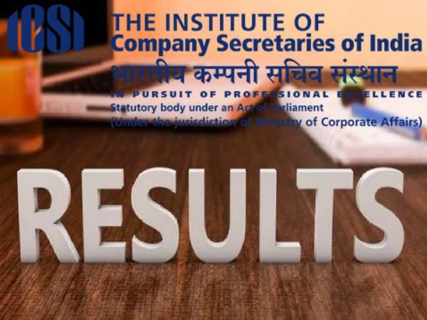 ICSI CS Result 2021 Check Direct Link: आईसीएसआई सीएस रिजल्ट 2021 डायरेक्ट लिंक से करें चेक