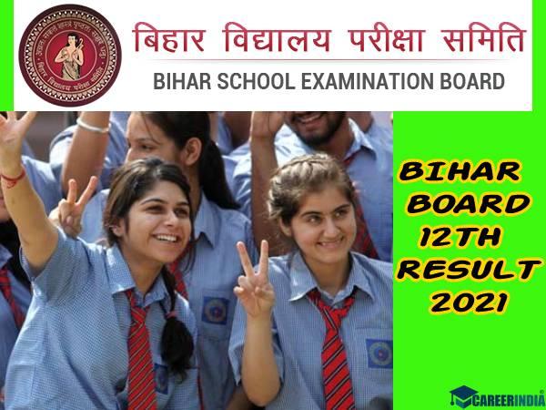 Bihar Board 12th Result 2021 Check Link: बिहार बोर्ड 12वीं रिजल्ट 2021 चेक करने के लिए Link यहां देख