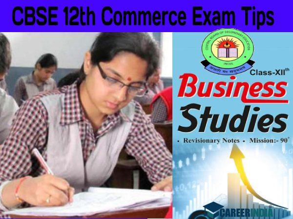 CBSE 12th Commerce Exam Tips 2021: CBSE 12वीं बिजनेस स्टडीज पेपर में 100% स्कोर के लिए बेस्ट टिप्स