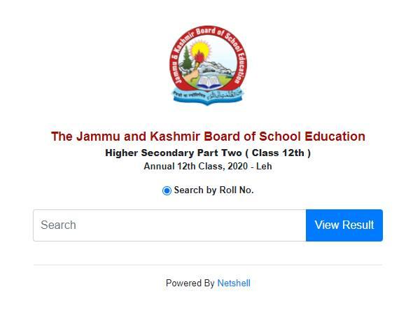 JKBOSE 12th Result 2020 Check Direct Link Here: जेकेबीओएसई कक्षा 12वीं रिजल्ट 2020 ऑनलाइन चेक करें