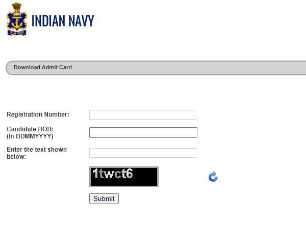 Indian Navy Tradesman Admit Card 2021 Download Link: भारतीय नौसेना ट्रेडसमैन एडमिट कार्ड 2021 डाउनलोड करें