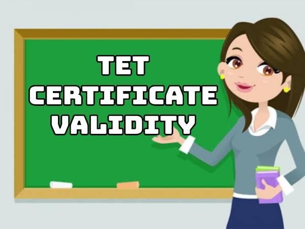 TET Certificate Validity: शिक्षक पात्रता परीक्षा टीईटी प्रमाण पत्र की वैधता अब लाइफटाइम