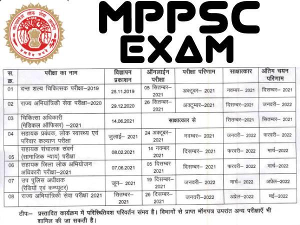MPPSC Calendar 2021-22 PDF Download: एमपीपीएससी कैलंडर 2021 जारी, एमपीपीएससी परीक्षा तिथि 2021 देखें