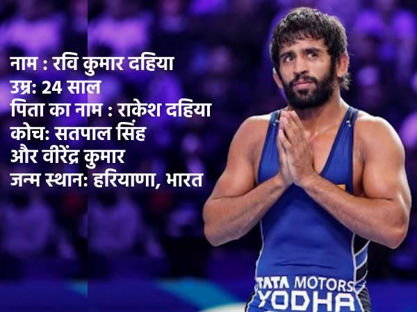 कौन है रवि कुमार दहिया ओलंपिक में जिसने रचा इतिहास
