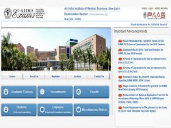 Aiims Pg 2019 Result Entrance Exam Results Released At Aiimsexams Org Check Here