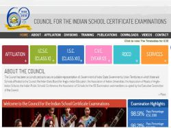 Icse 10th 12th Board Exam Time Table 2019 Date Sheet Issue Of Board Examination 12th Examination
