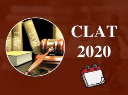 Clat 2020 Exam Date Syllabus Pattern Clat 2020 Registration Process