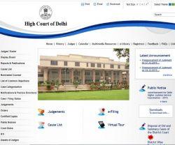 Delhi High Court Recruitment 2020 For Higher Judicial Services Delhihighcourt Nic In