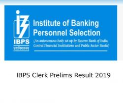 Ibps Clerk Result 2019 Ibps Clerk Prelims Result Date Time Read All Details