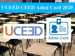 Uceed Ceed Admit Card 2020 Download Direc Link Here