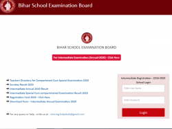 Bihar Board Bseb 12th Admit Card 2020 Download Direct Link Active 17 January