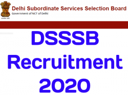 Dsssb Recruitment 2020 For 256 Assistant Store Keeper Driver Apply Online 21 January To 20 February