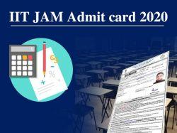 Iit Jam Admit Card 2020 Download Iit Jam 2020 Admit Card Jam Iitk Ac In