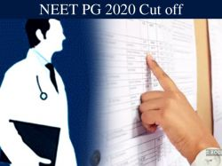 Neet Pg 2020 Cut Off