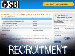 Sbi Recruitment 2020 So