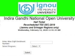 Ignou Bed Admit Card 2020 Ignou Bed Exam Date Result
