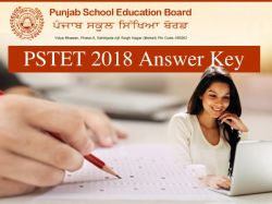 Pstet 2018 Answer Key Raise Objection Last Date Today