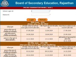 Rbse 12th Admit Card 2020 Download Rajasthan Rbse 12th Time Table Exam Result Date