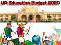 Up Education Budget 2020 In Pdf Download