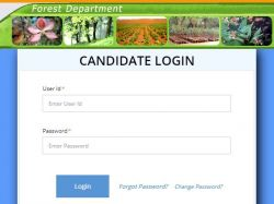 Delhi Forest Guard Admit Card 2020 Exam Date