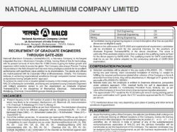 Nalco Recruitment 2020 Notification