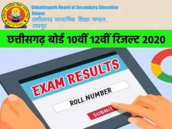 Cgbse 10th 12th Result 2020 Date Chattisgarh Board 10th 12th Result 2020 Kab Aayega