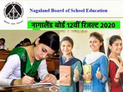 Nagaland Board 12th Result