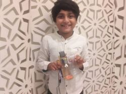 Trio World Academy Eight Year Old Shaurya Shenoy Develops Sanitiser Capsule For Protect Covid