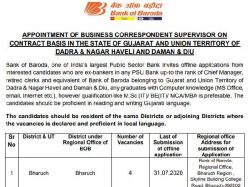 Bank Of Baroda Recruitment 2020 Supervisor Application Form