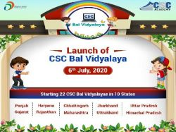 Csc Bal Vidyalaya List Of Rural India Students
