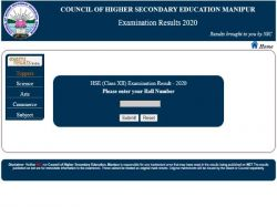 Manipur Board 12th Result 2020 Declared At Manresults Nic In Check Manipur 12th Result Direct Link