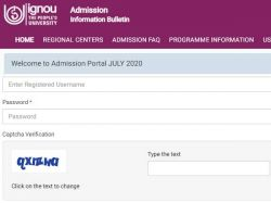 Ignou Admission 2020 Dates July Session Ignou Registration Extends Till August