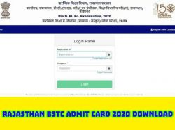 Rajasthan Bstc Admit Card 2020 Download Direct Link