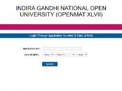 Ignou Openmat Admit Card Exam Date Time Table