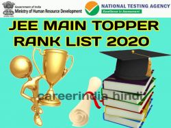 Jee Main 2020 Toppers And Rank List